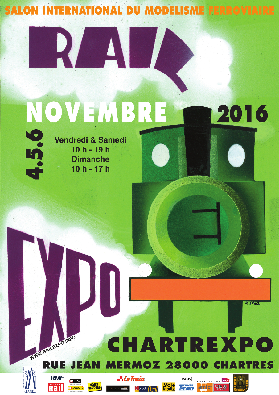 Rail Expo, Chartres, 4, 5 et 6 novembre 2016 Re2016_1280
