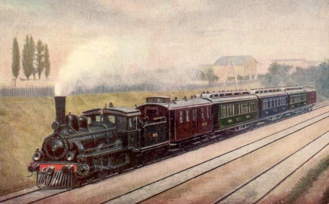 Train l orient express