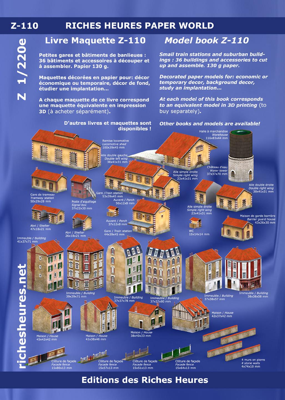Richesheures [Modélisme en impression 3D] – Echelle Z Z110page01hd