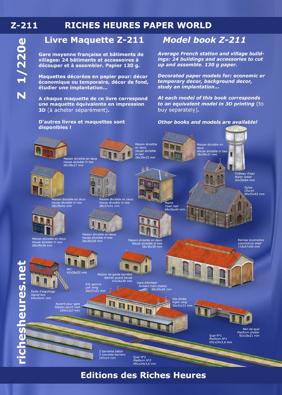 Richesheures [Modélisme en impression 3D] – Echelle Z Z211page01hd